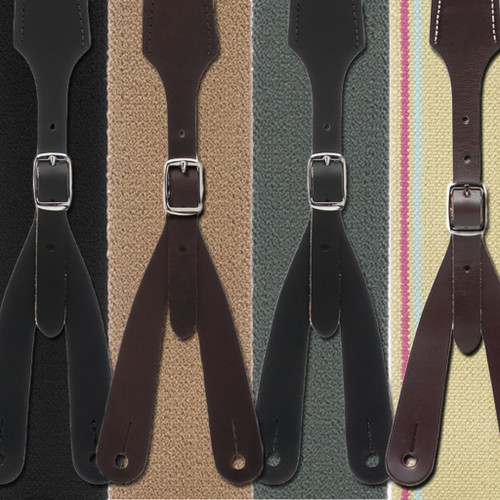 Rugged Comfort Suspenders Button - All Colors