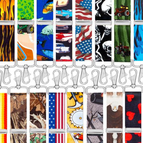 Trigger Snap Suspenders - Many Patterns