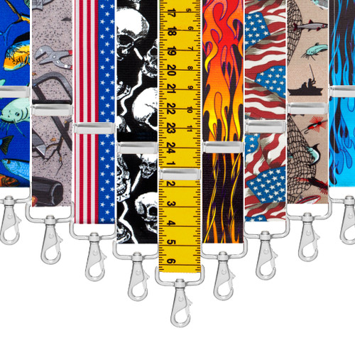Big & Tall Trigger Snap Suspenders - Variety of Patterns