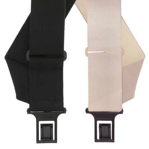 Undergarment Suspenders - SIDE Belt Clip - Both Colors