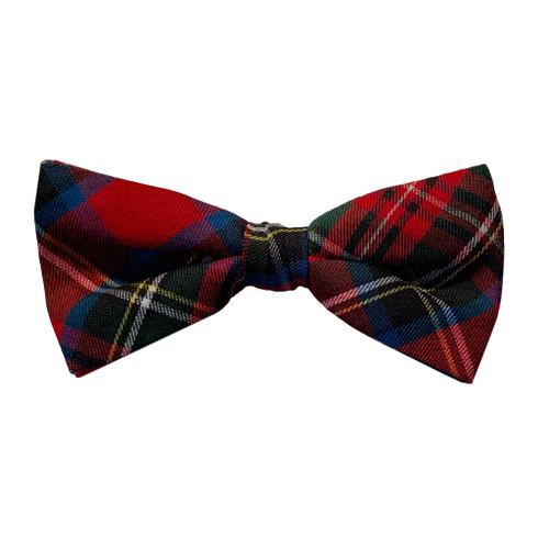 Tartan Bow Tie in Royal Stewart