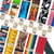 Big & Tall 2-Inch Novelty Pin Clip Suspenders - All Colors