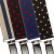 1 Inch Wide Polka Dot & Striped Suspenders - All Colors