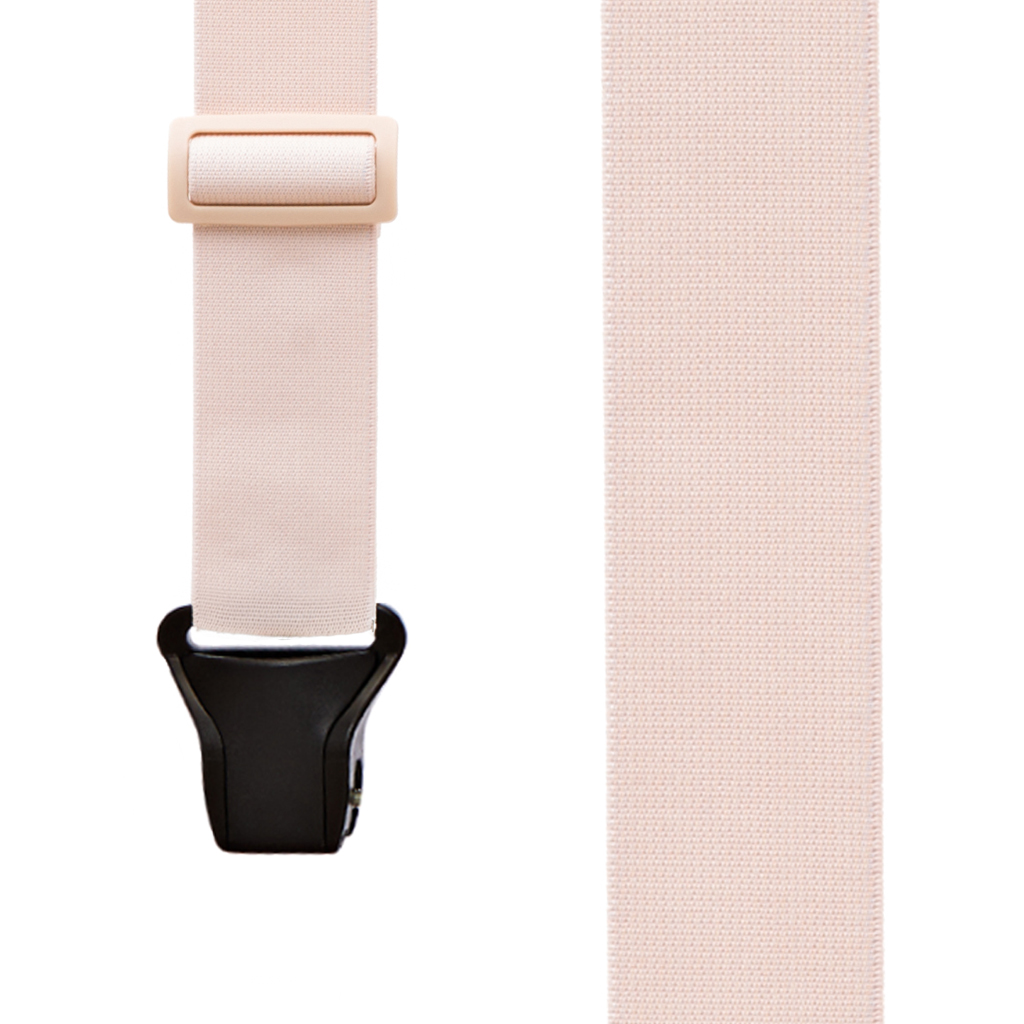 Undergarment Suspenders - BEIGE - Airport Friendly SIDE CLIP