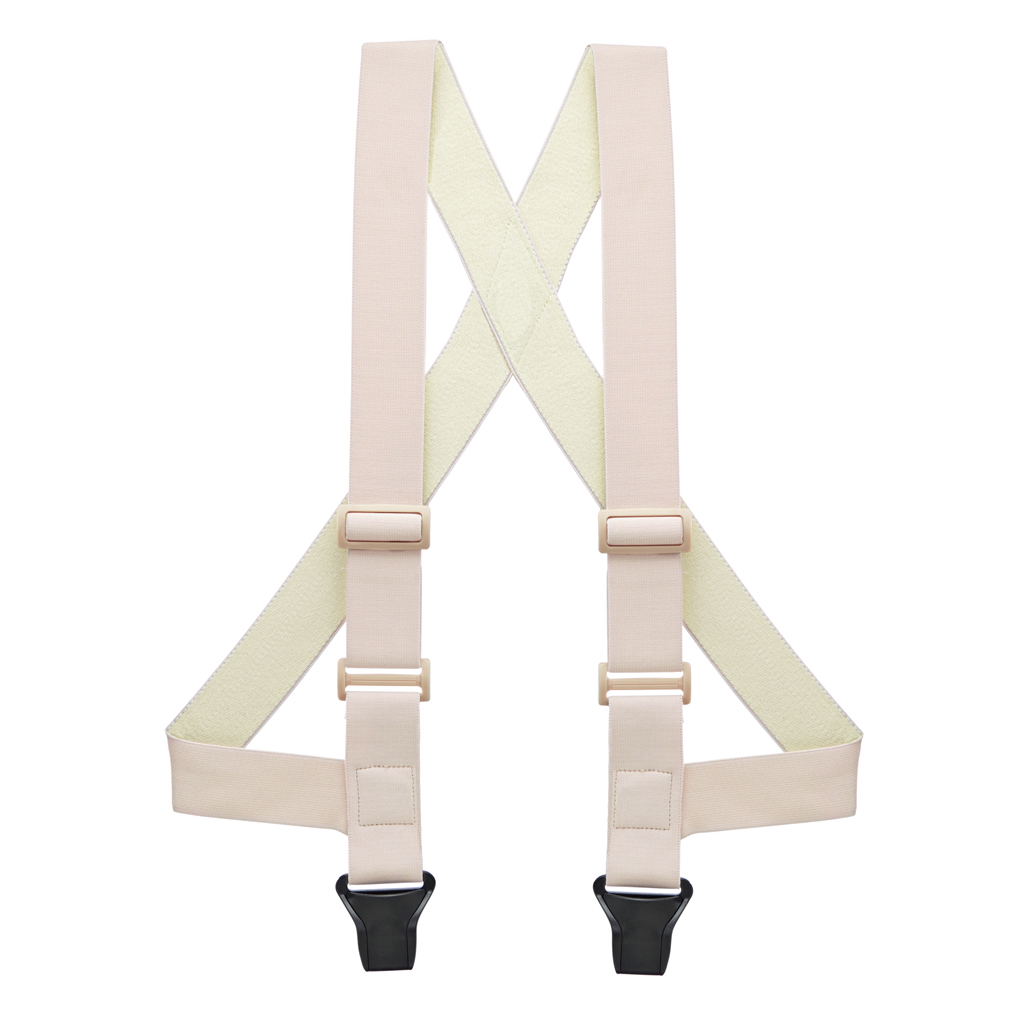 Khaki Airport Friendly Quality Suspenders Made in the USA
