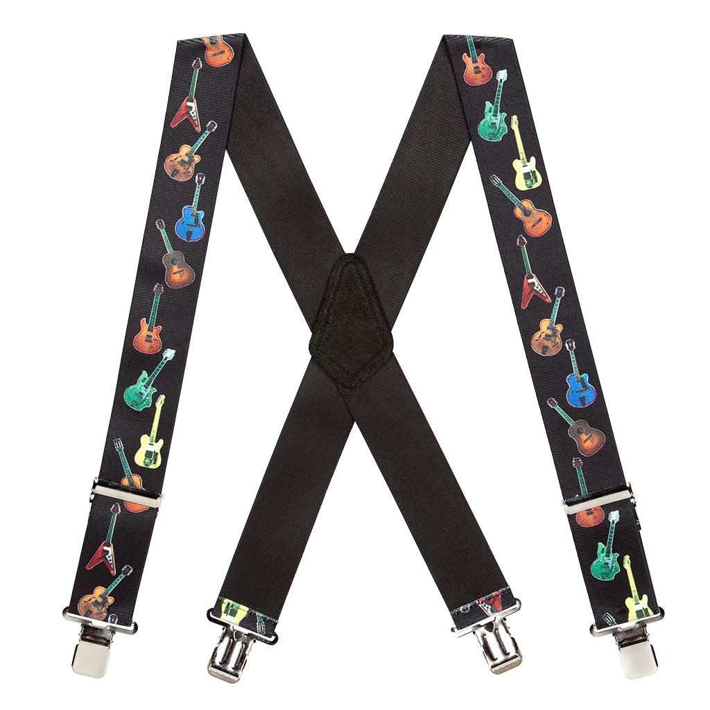 Guitar Suspenders - Full View