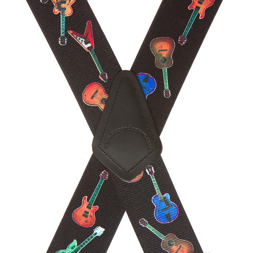 Guitar Suspenders - Rear View