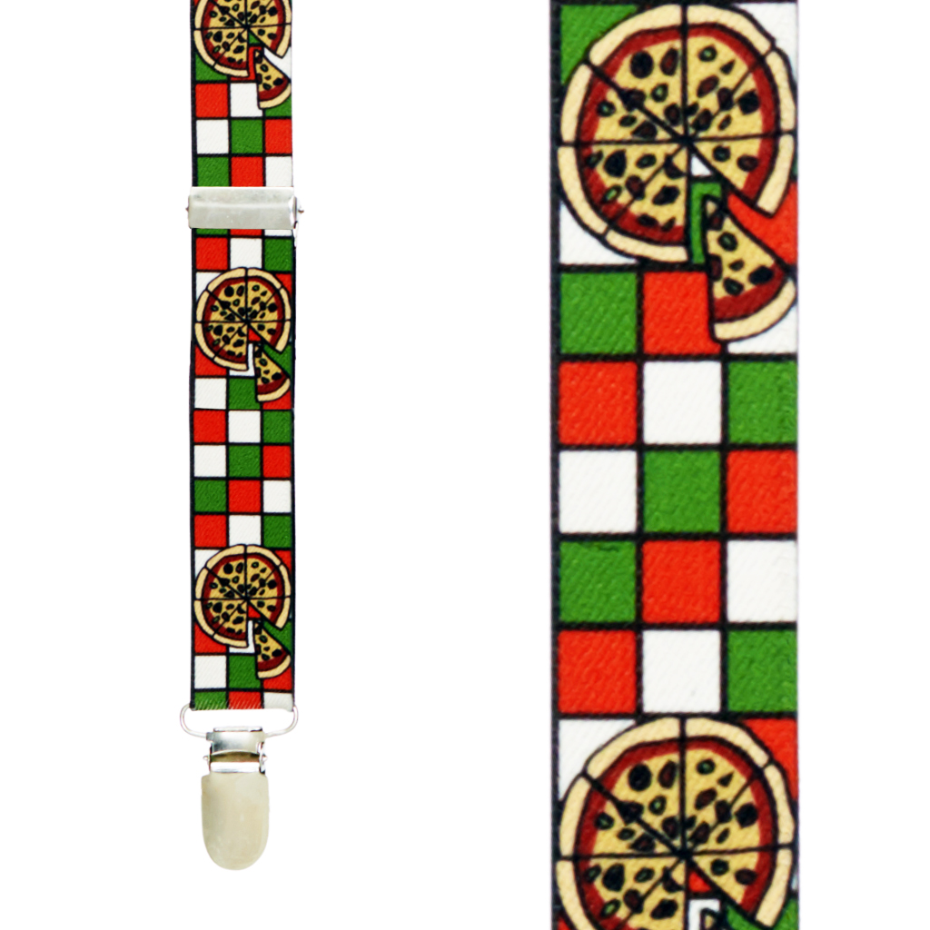 Pizza Suspenders - Front View