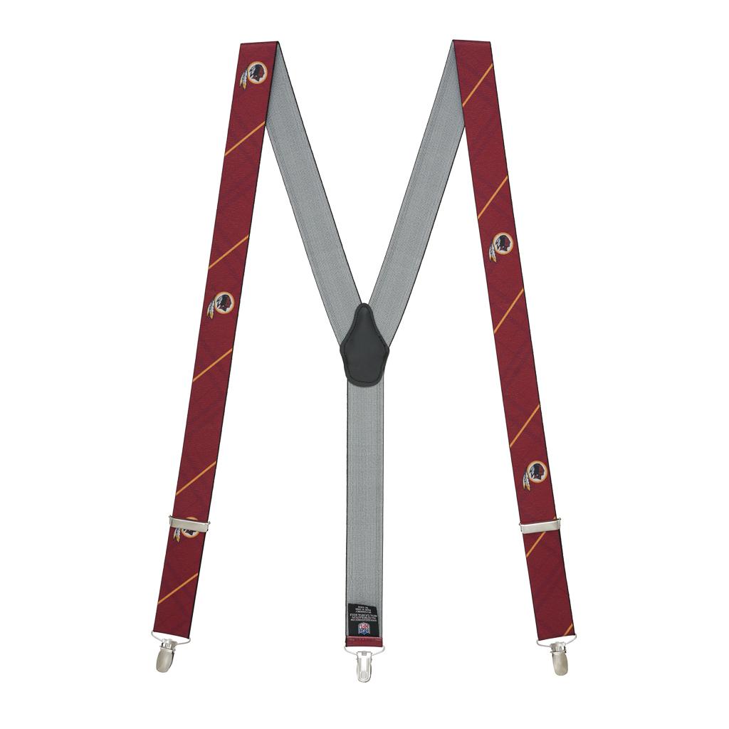 Washington Redskins Suspenders - Full View