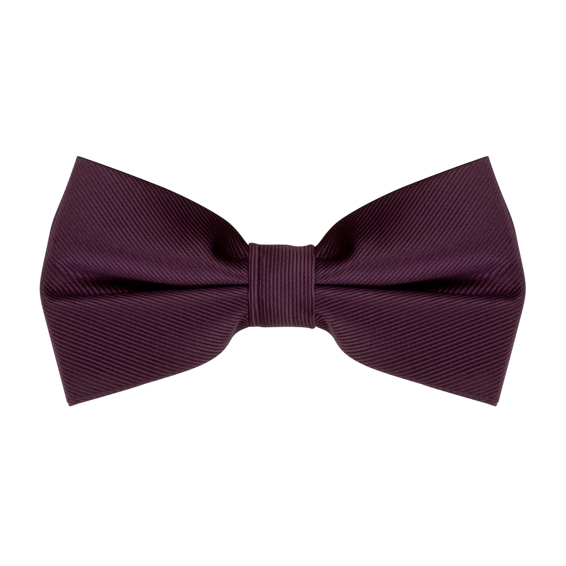 Bow Tie in Eggplant