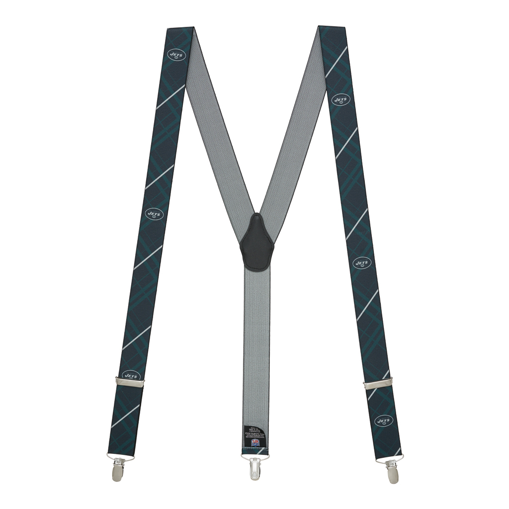 NFL New York Jets Suspenders - Full View