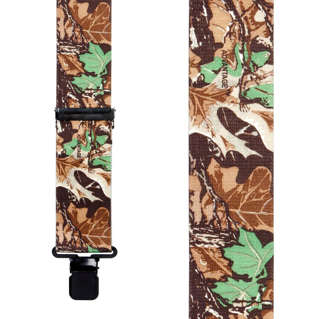 Advantage Camo Suspenders - Front View
