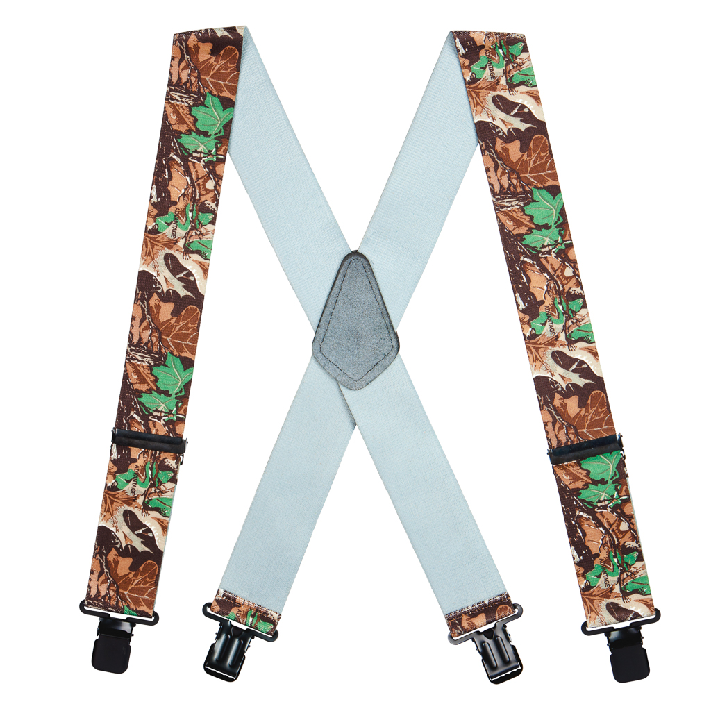 Advantage Camo Suspenders - Full View