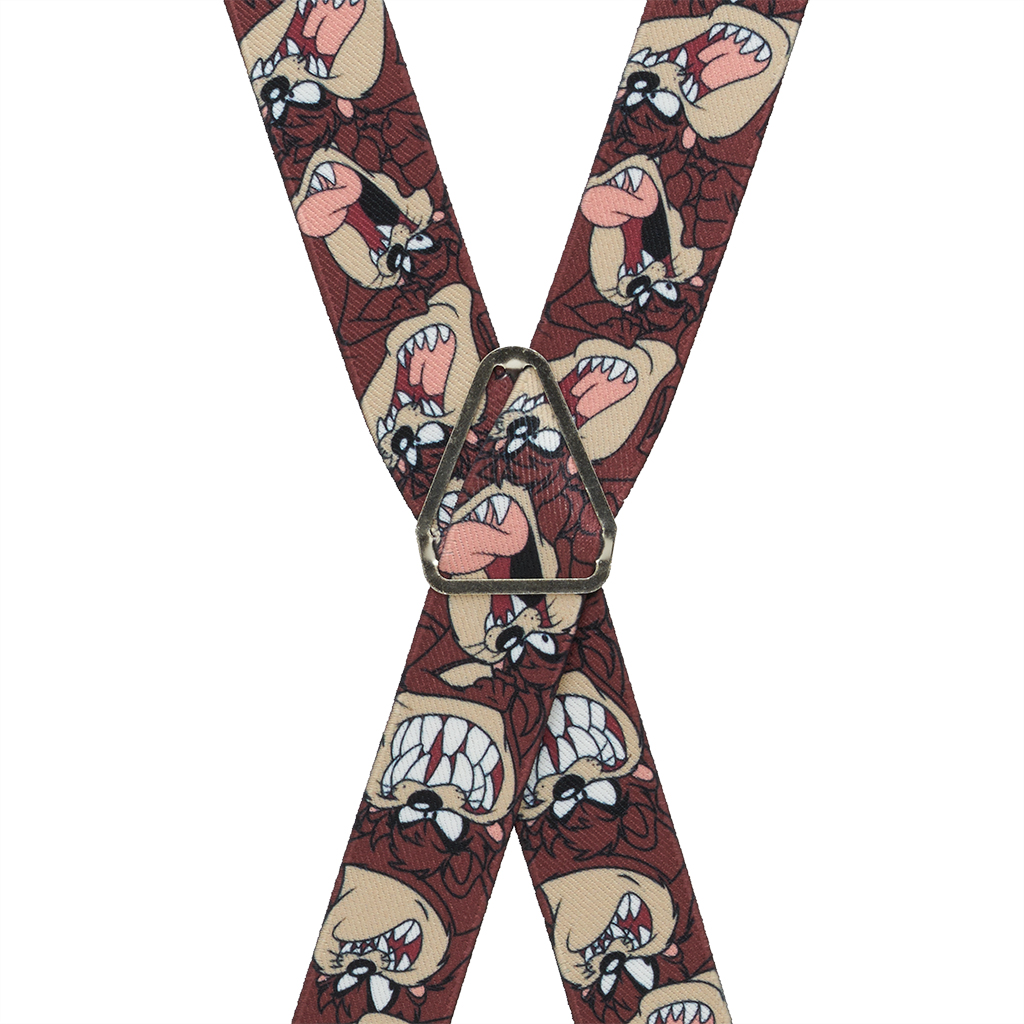 Tasmanian Devil Suspenders - Rear View