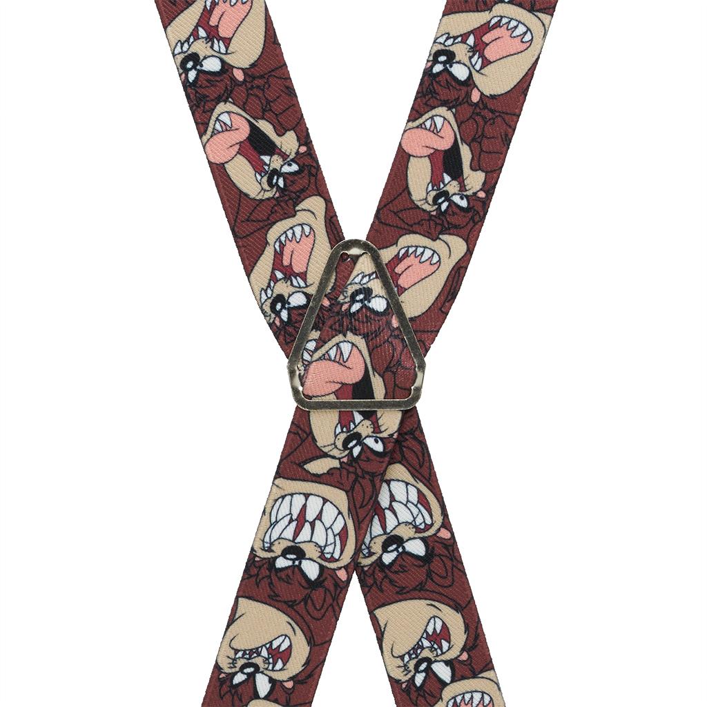 Tasmanian Devil Suspenders - Rear View