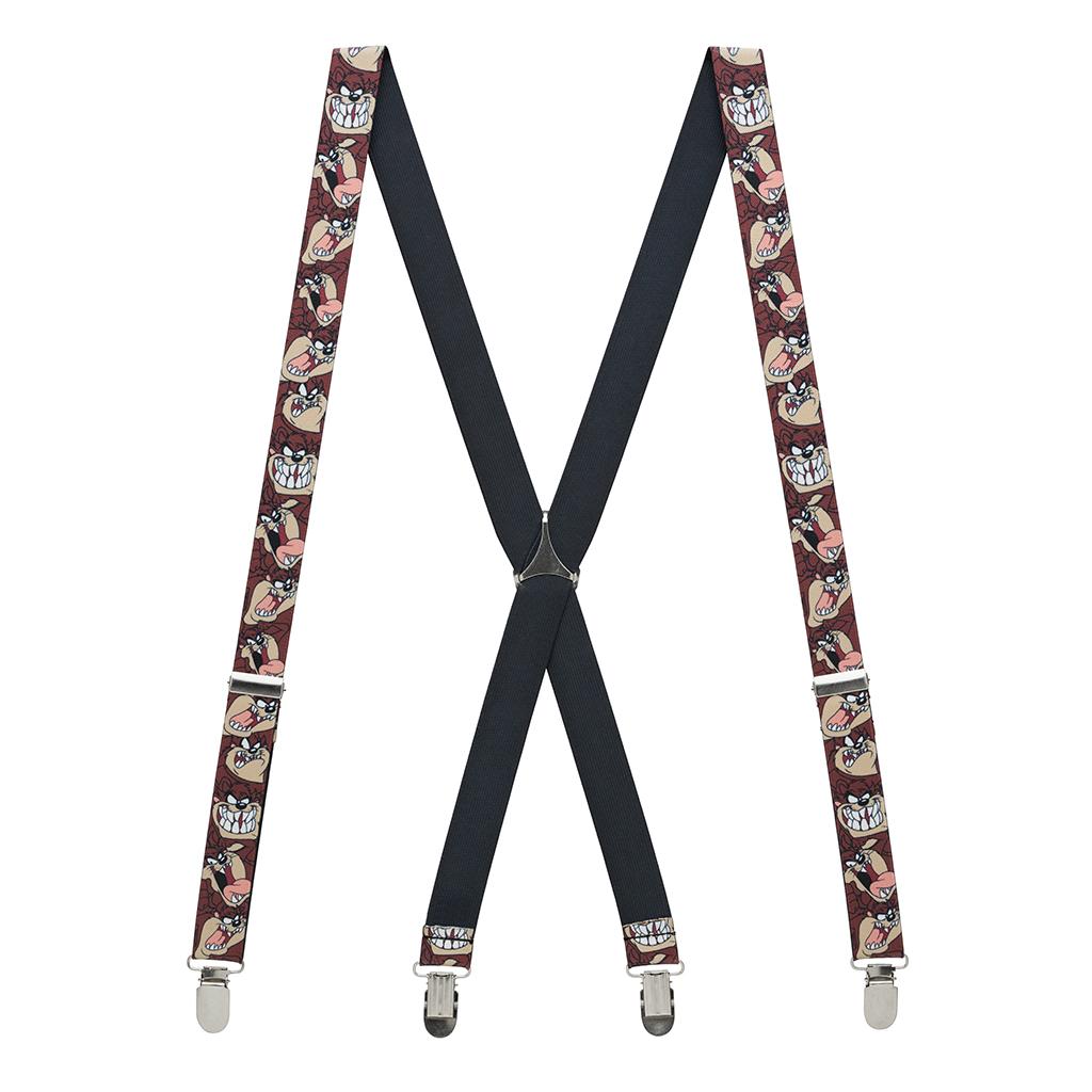 Tasmanian Devil Suspenders - Full View