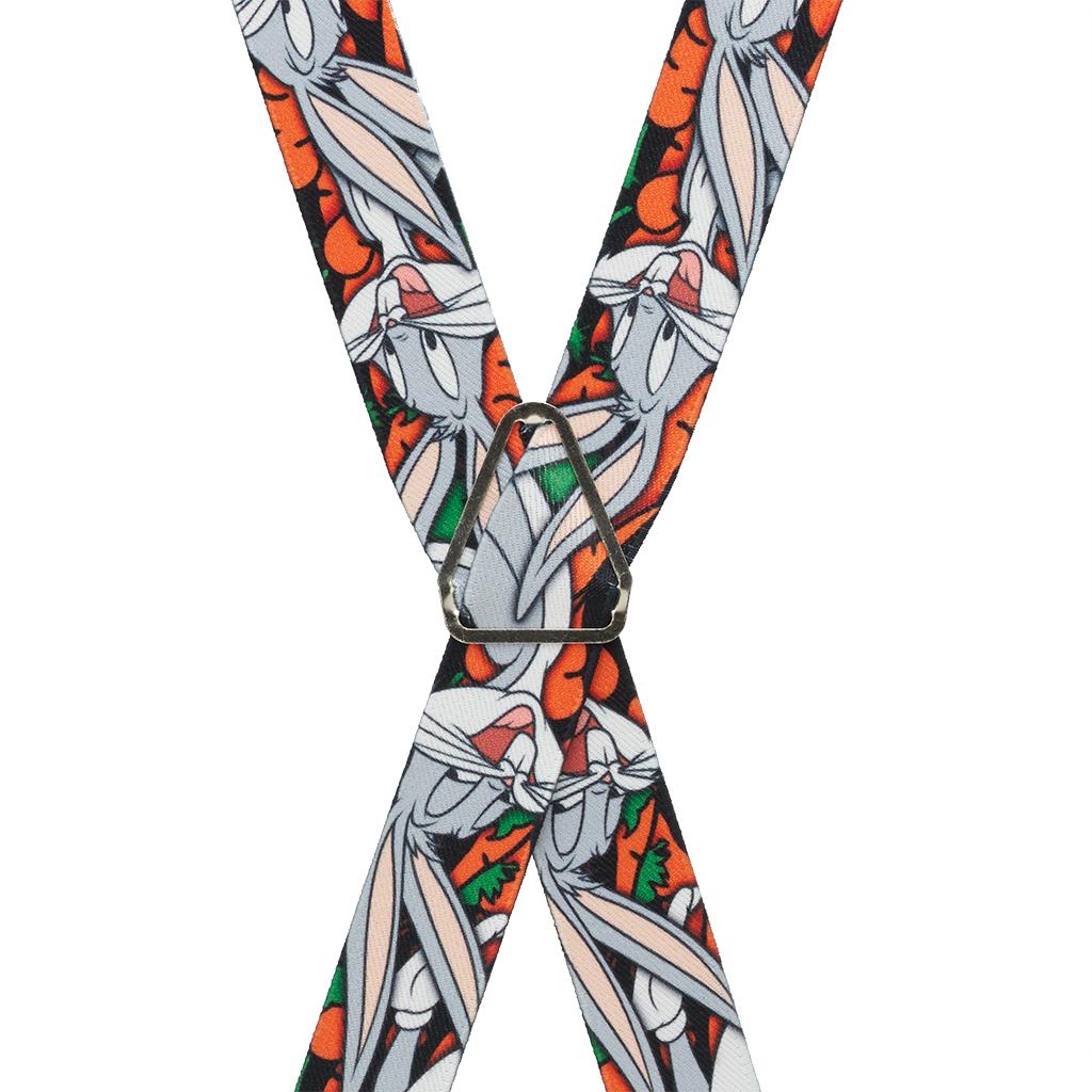 Bugs Bunny Suspenders - Rear View