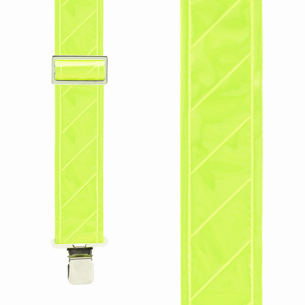 Reflective Safety Suspenders - Front View