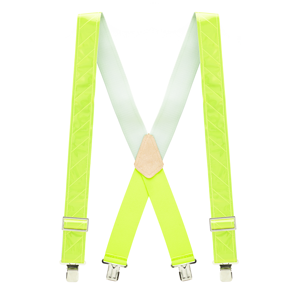 Reflective Safety Suspenders - Full View