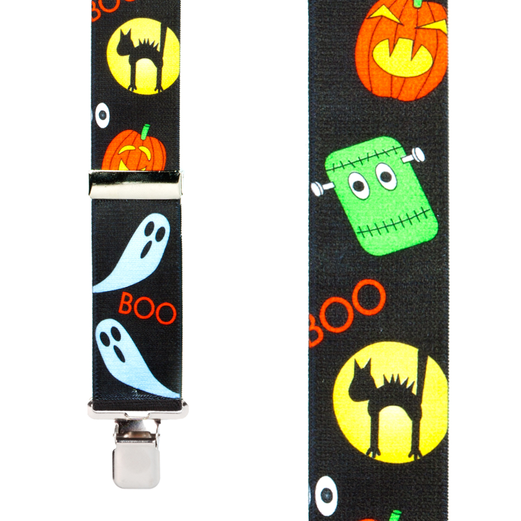 Halloween Suspenders Front View