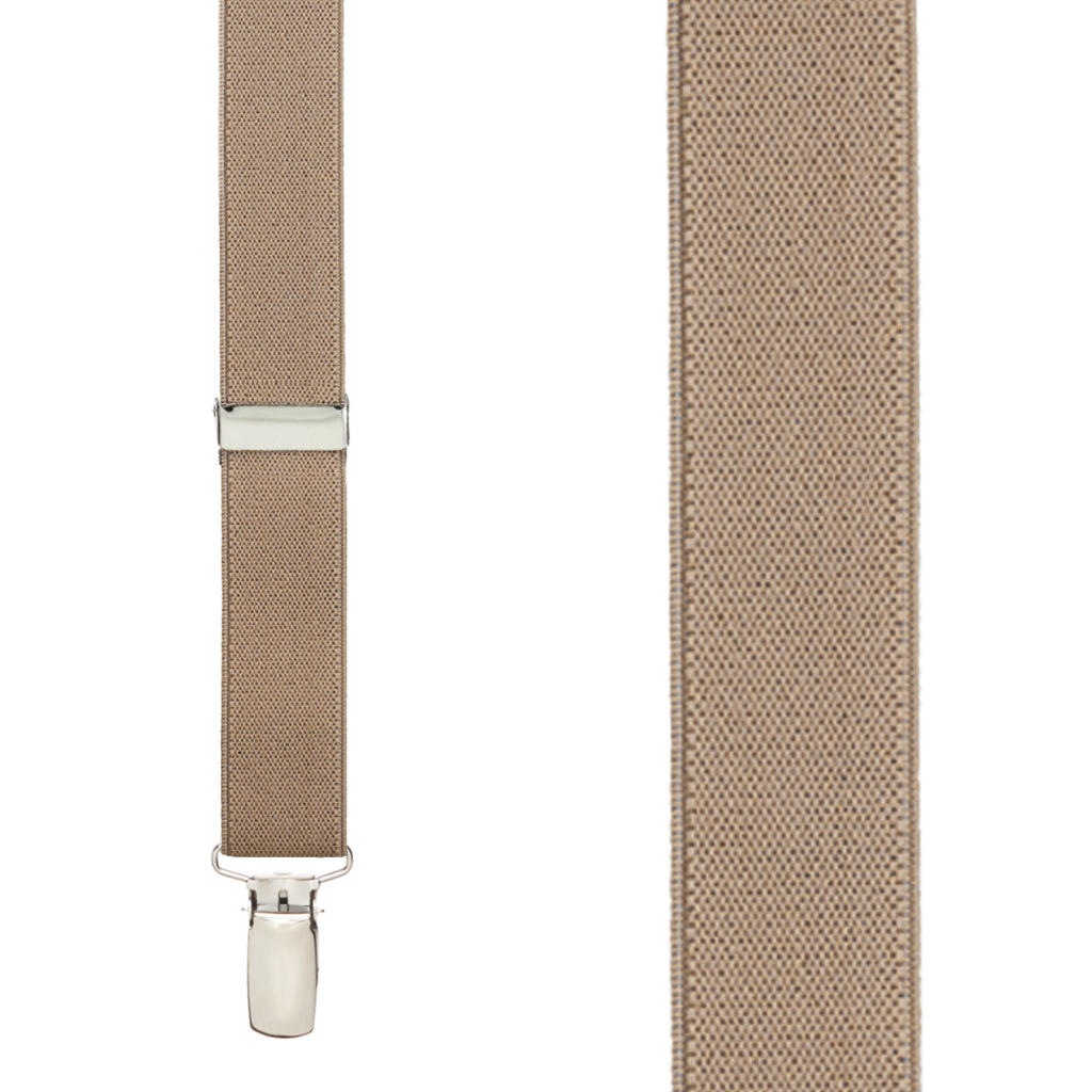 Suspender in Taupe - Front View
