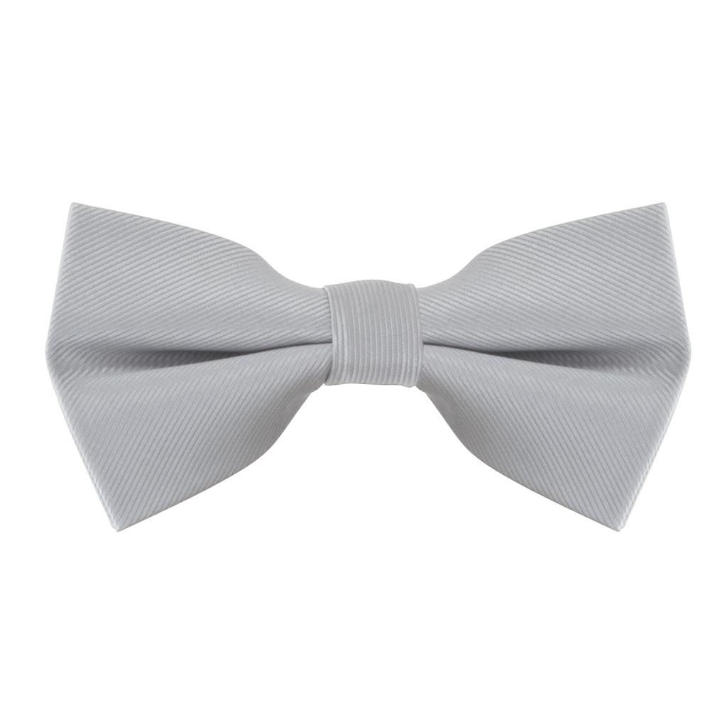 Bow Tie in Light Grey
