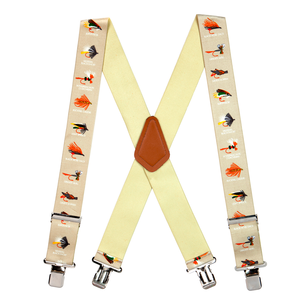 Fly Fishing Suspenders - Full View