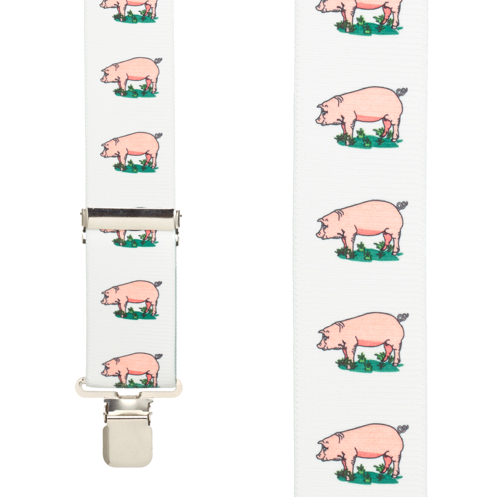 Pig Suspenders - Front View