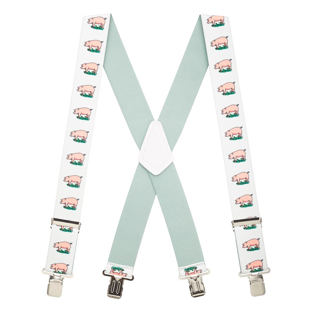 Pig Suspenders - Full View