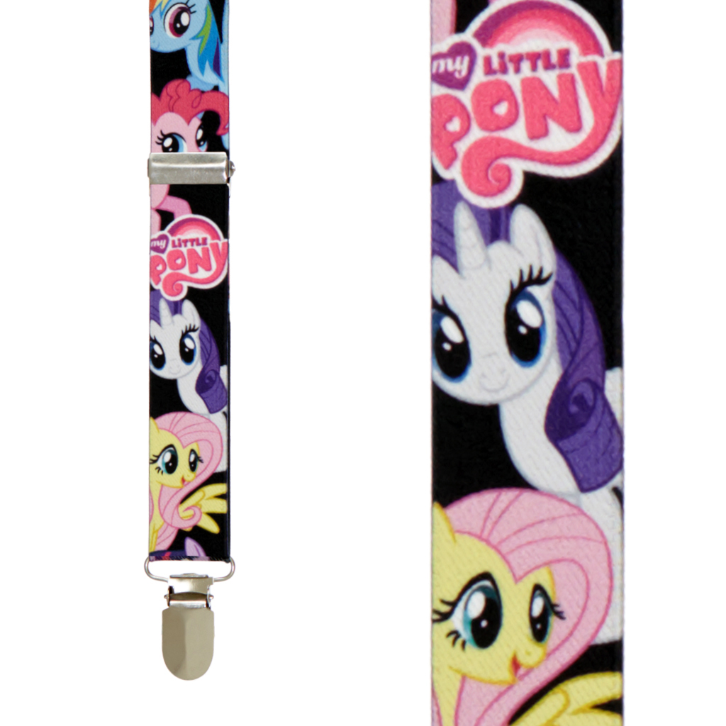 My Little Pony Suspenders - Front View
