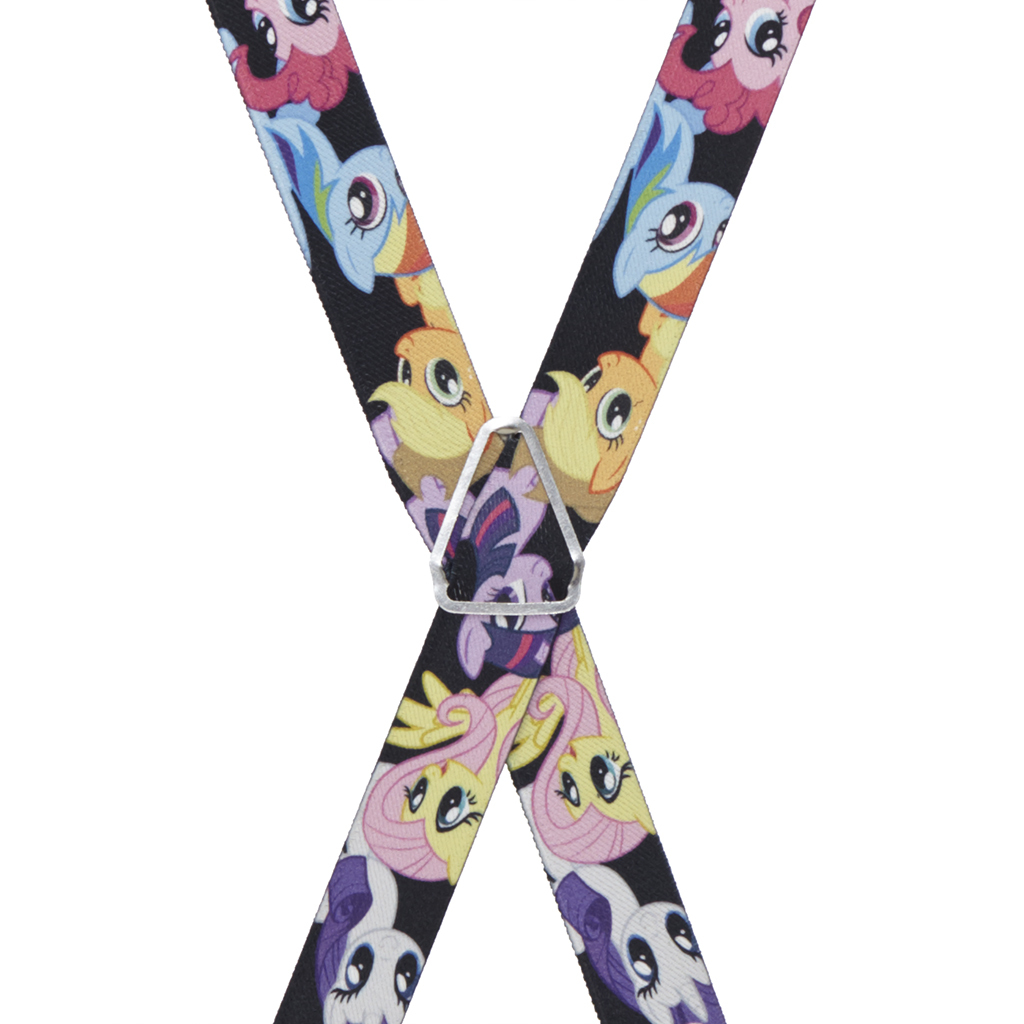 My Little Pony Suspenders - Rear View