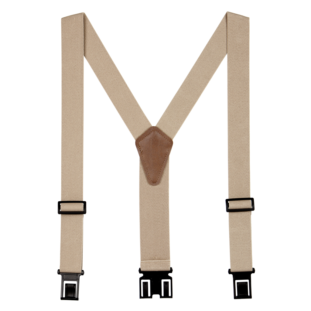 Full View - 1.5 Inch Wide Perry Belt Clip Suspenders