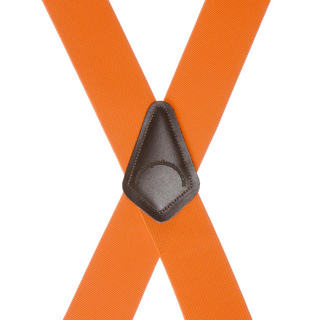 Classic Suspenders - Rear View - Orange