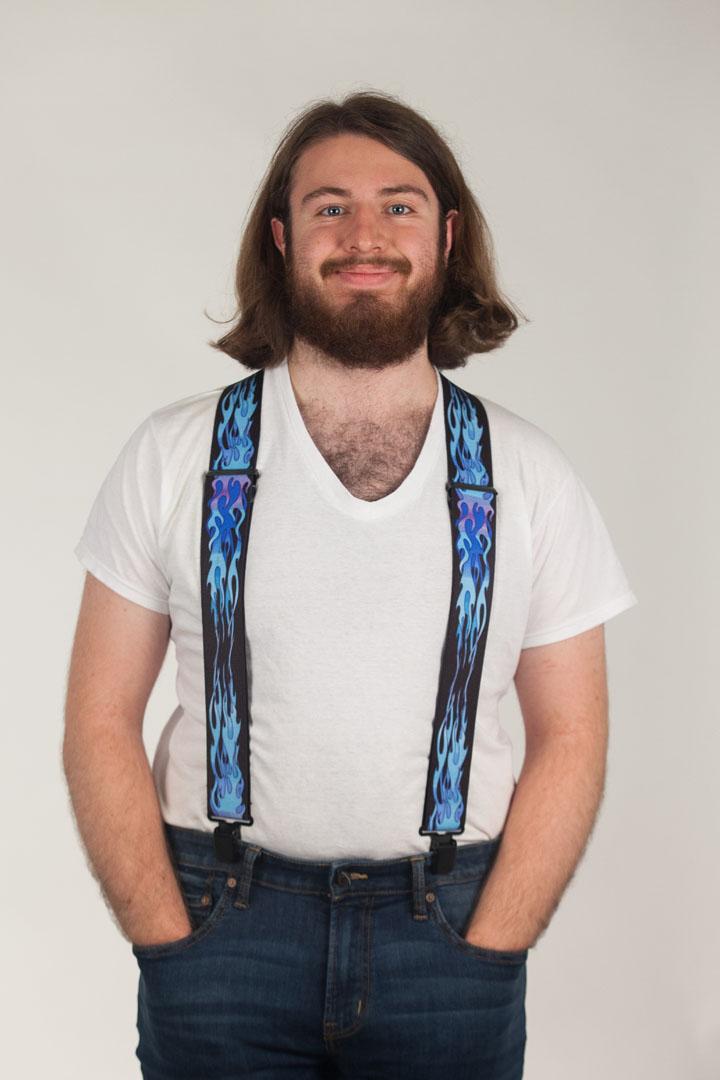 Flames Suspenders