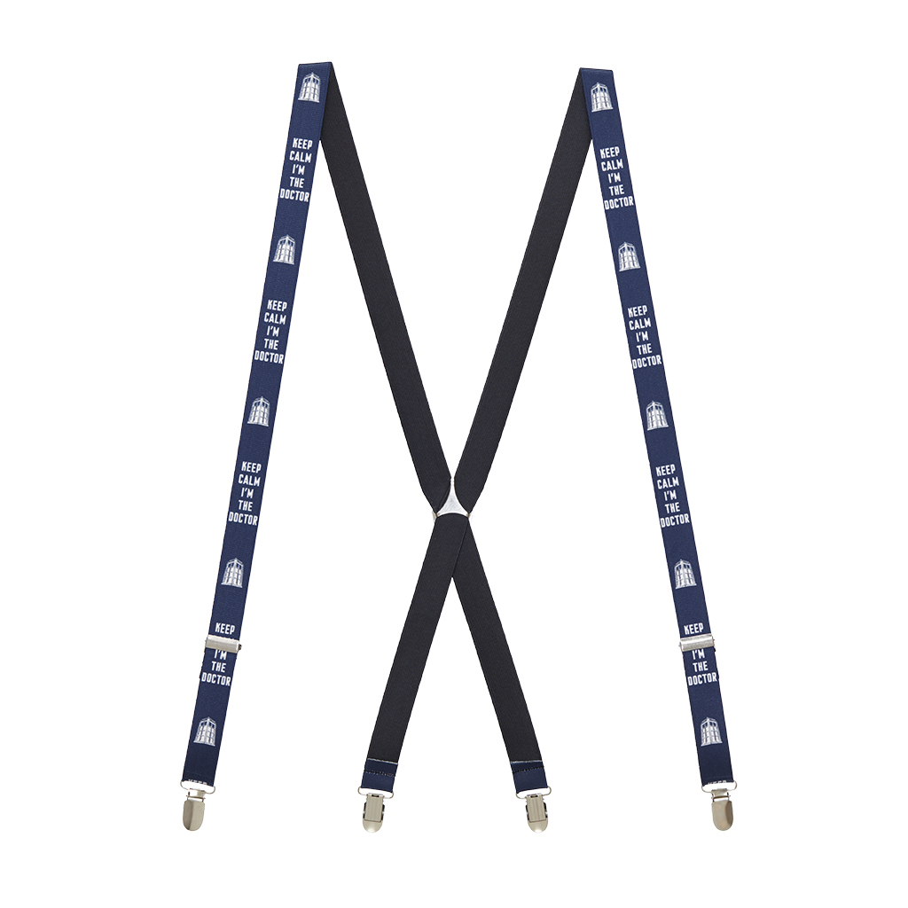 Doctor Who Suspenders