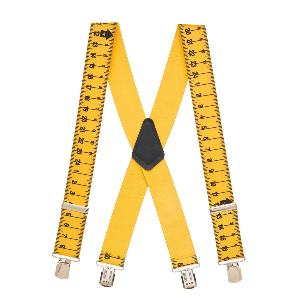 Tape Measure Suspenders Full View