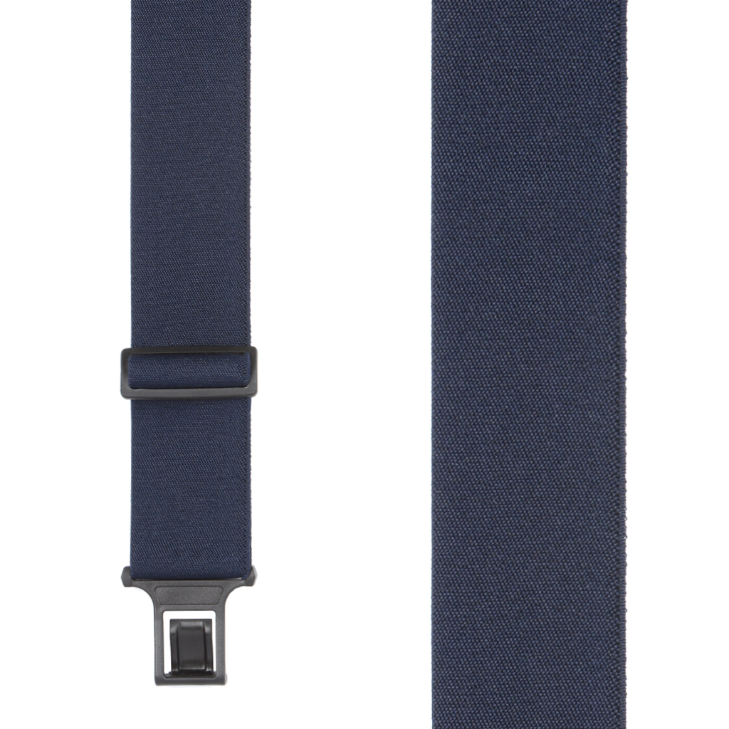 Perry Suspenders - Front View -Navy Blue