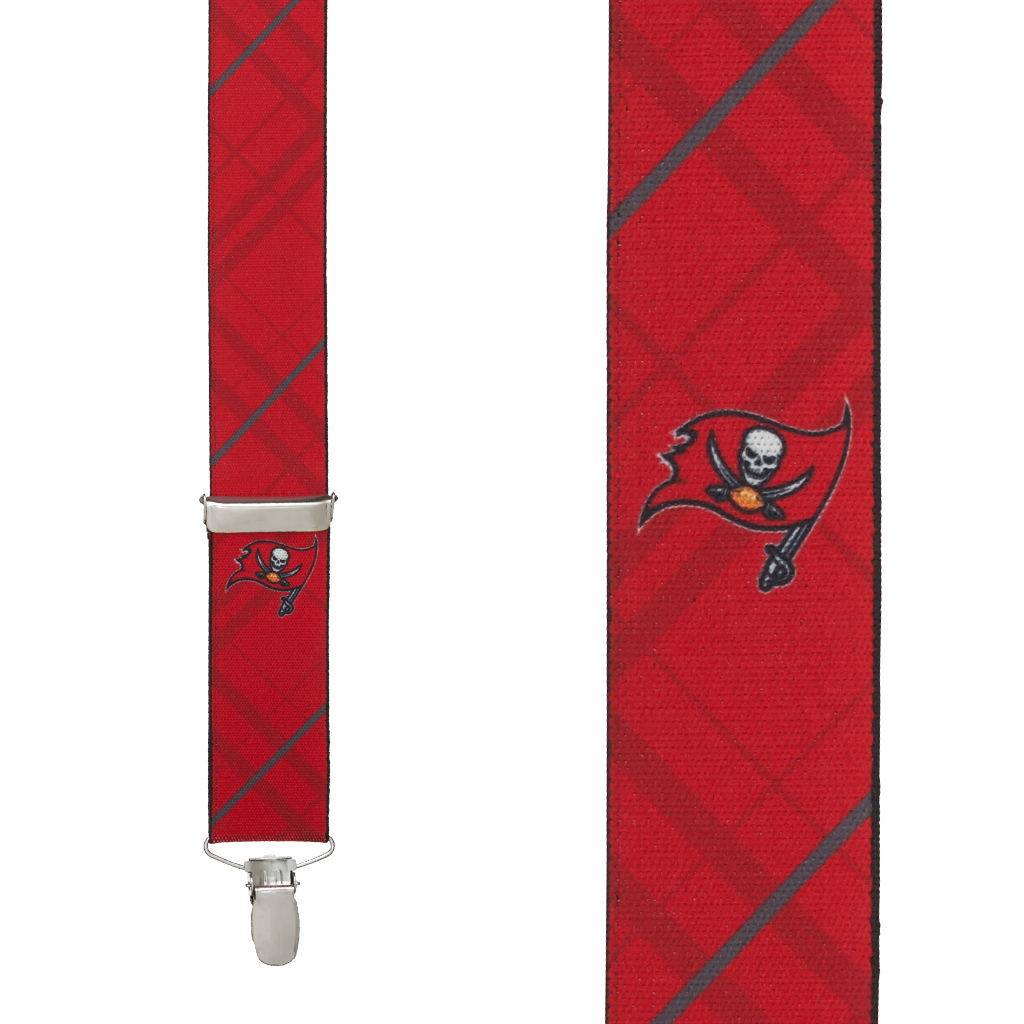 Tampa Bay Buccaneers Suspenders - Front View