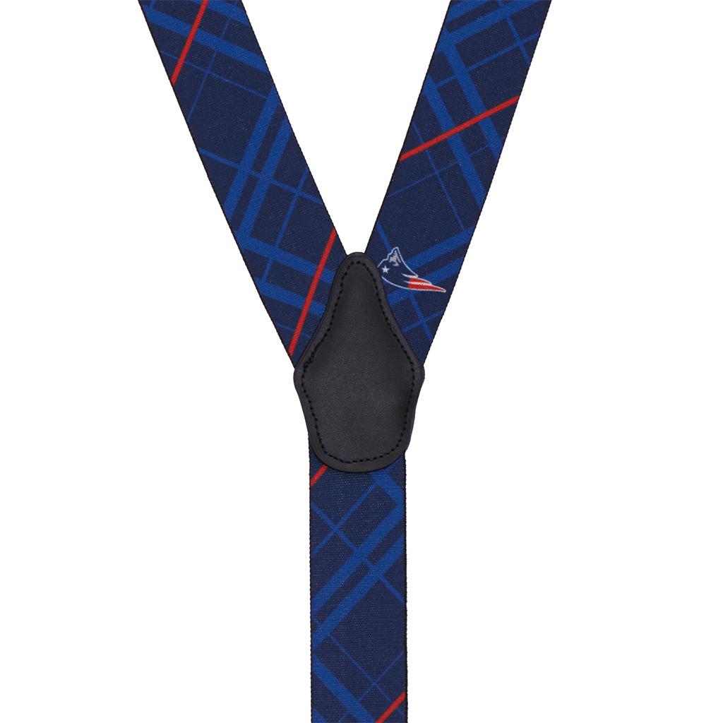 Patriots Suspenders - Rear View