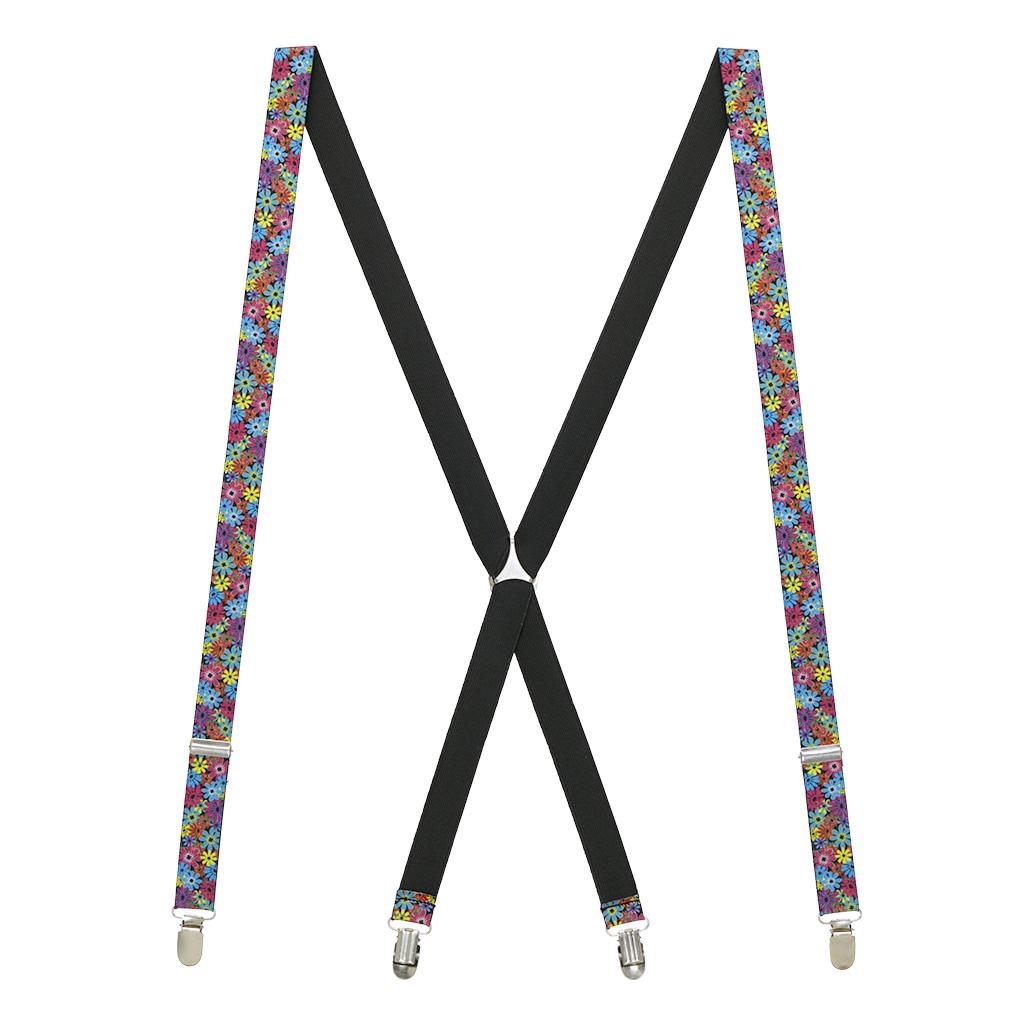 Flower Suspenders - Full View