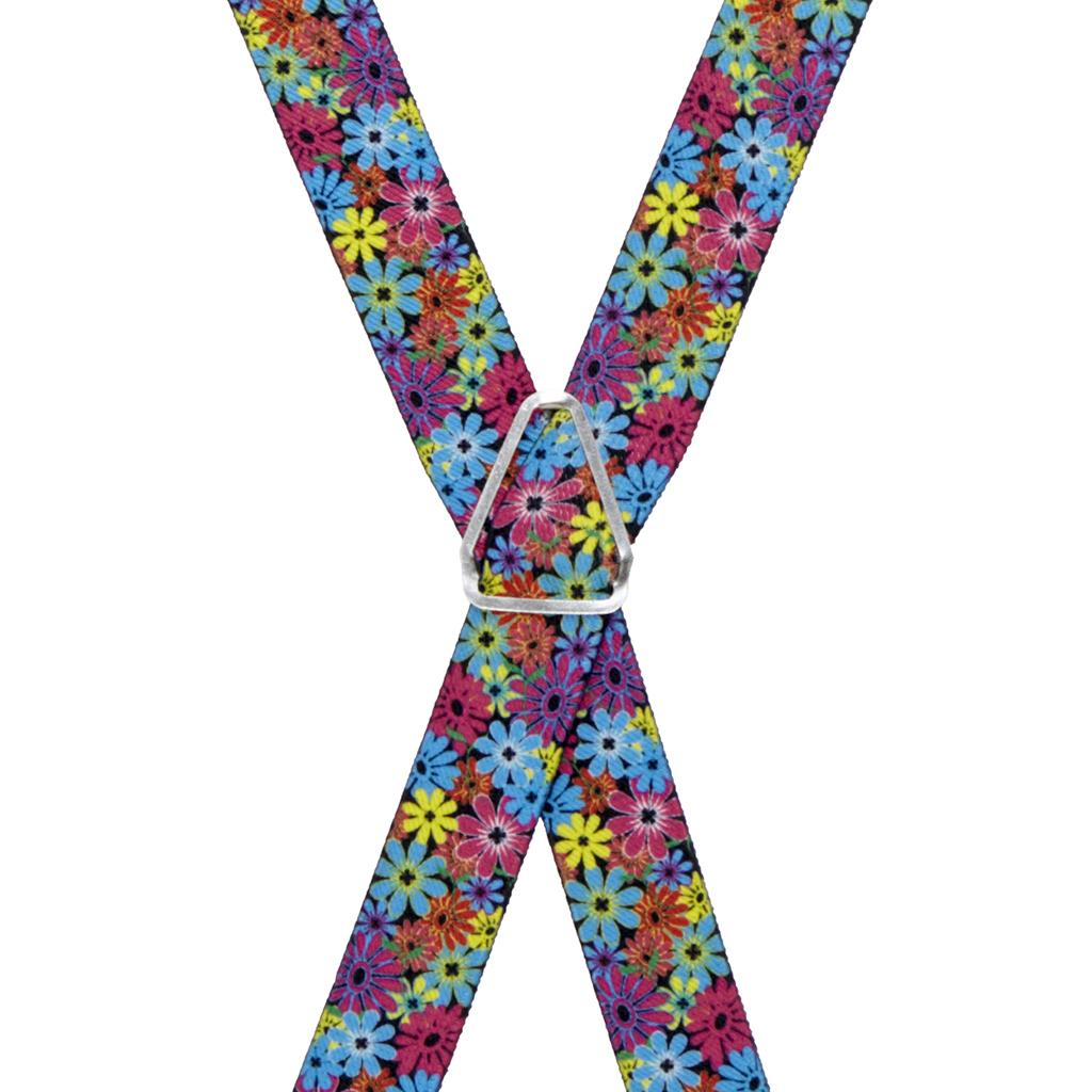 Flower Suspenders - Rear View