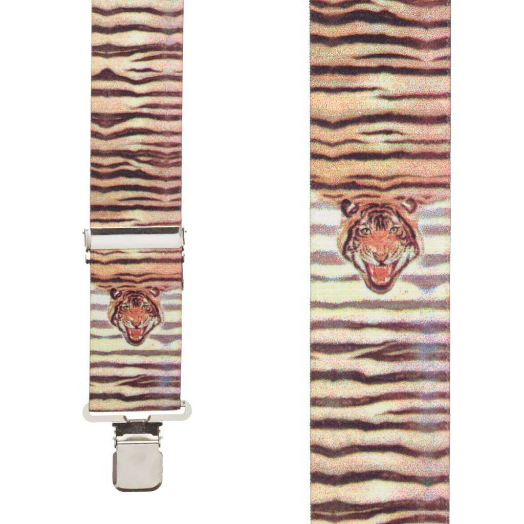 Tiger Suspenders Front View