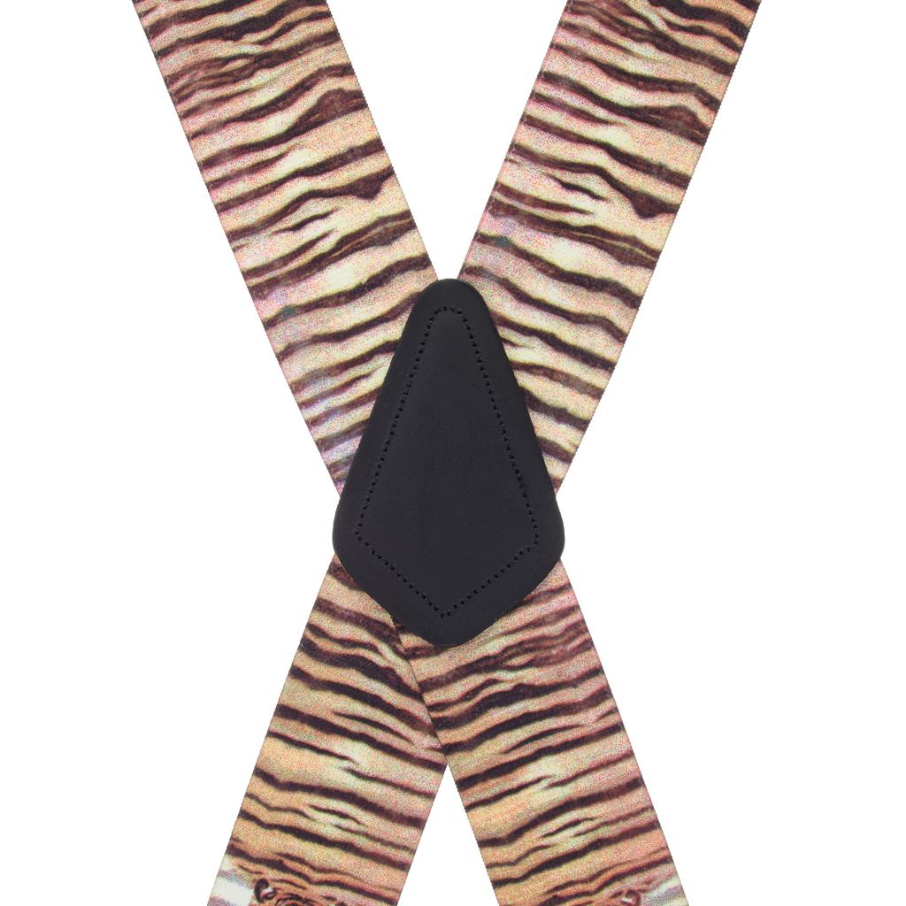 Tiger Suspenders Rear View