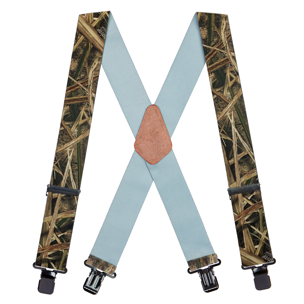 Shadow Grass Blades Suspenders - Full View