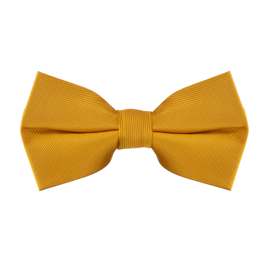 Bow Tie in Golden Yellow