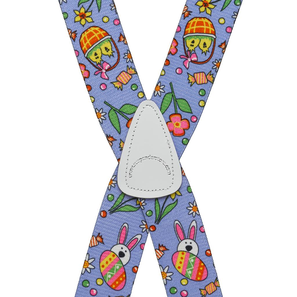 Easter Suspenders - Rear View