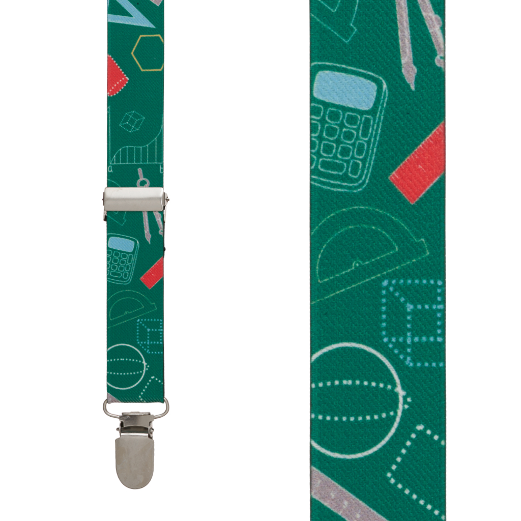 Math Tools Suspenders - Front View
