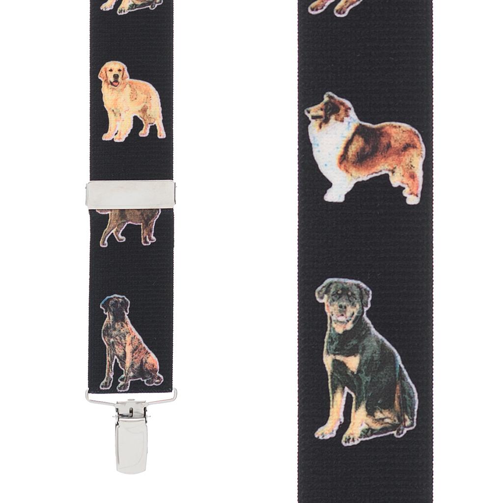 Big Dog Suspenders - Front View