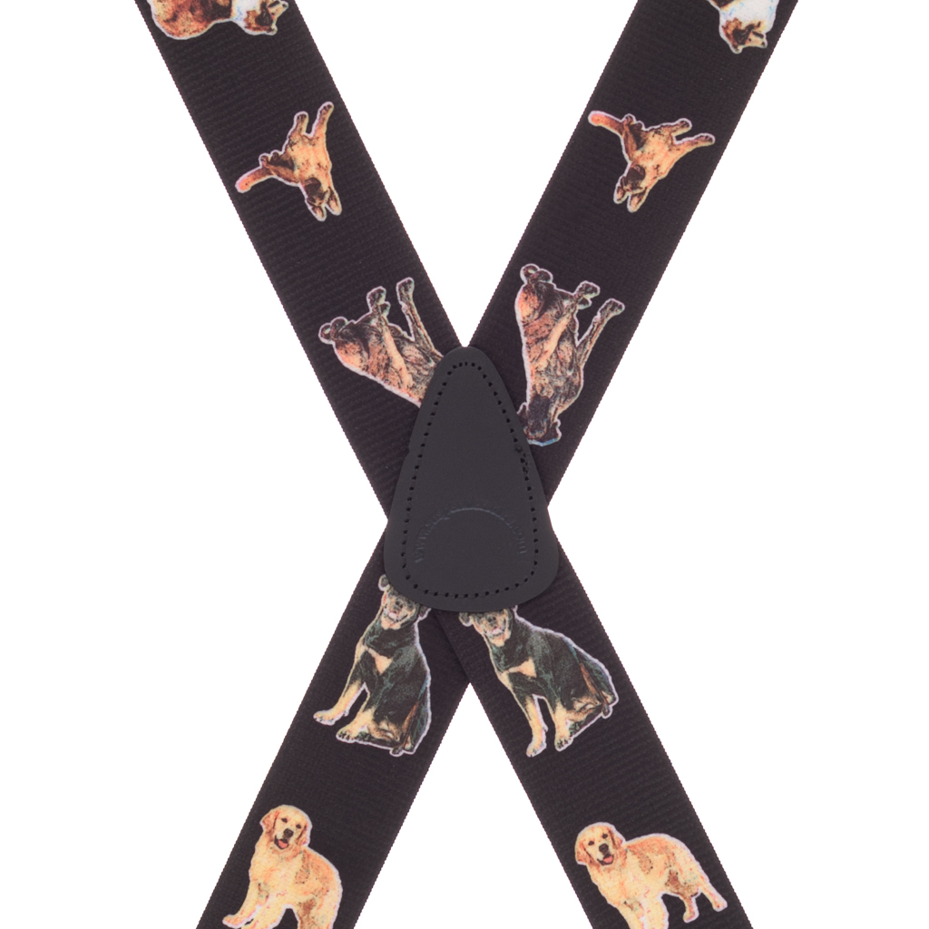 Big Dog Suspenders - Rear View
