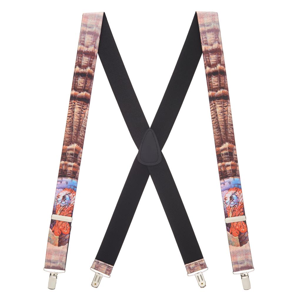 Turkey Suspenders - Full View